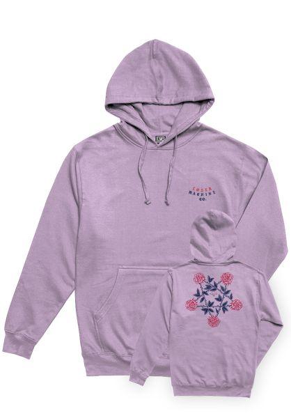 Loser-Machine Hoodies Last Letter lavender vorderansicht 0445333
