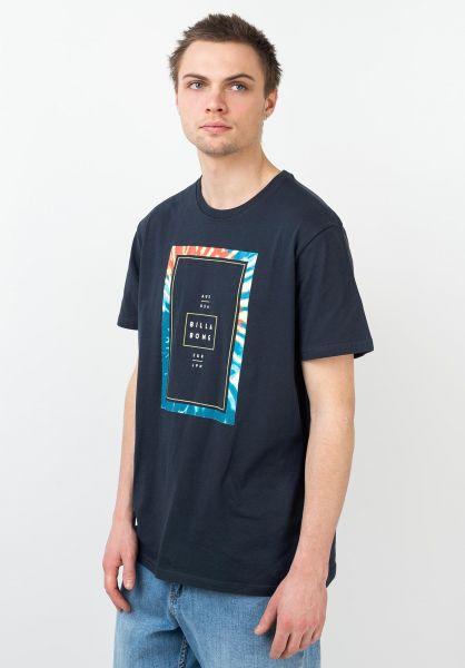 Billabong T-Shirts Tucked navy vorderansicht 0399905