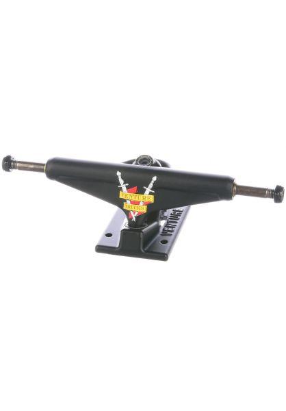 Venture Achsen 5.2 Low Crest flatblack-flatblack vorderansicht 0122628