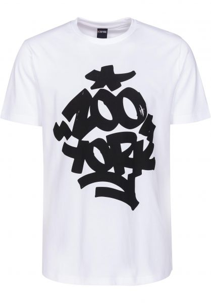 Zoo York T-Shirts Fat 'N' Juicy white Vorderansicht