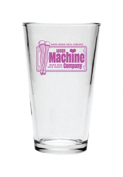 Loser-Machine Verschiedenes Cold Hearts Pint Glass clear vorderansicht 0972505