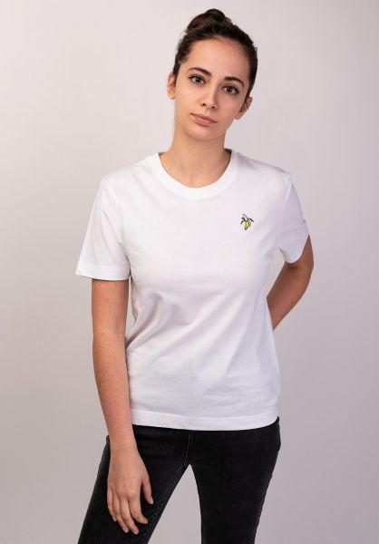 Dedicated T-Shirts Mysen Banana white vorderansicht 0399201
