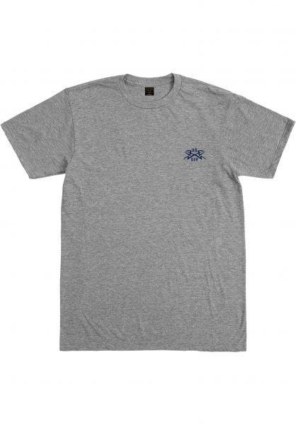 Dark Seas T-Shirts Headmaster heathergrey closeup1 0396609