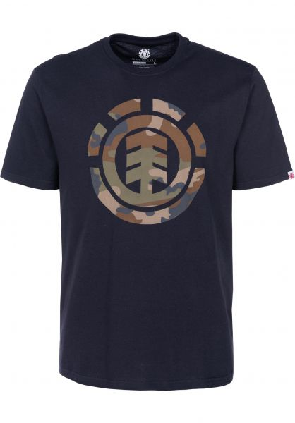 Element T-Shirts Foundation Icon eclipsenavy vorderansicht 0399838