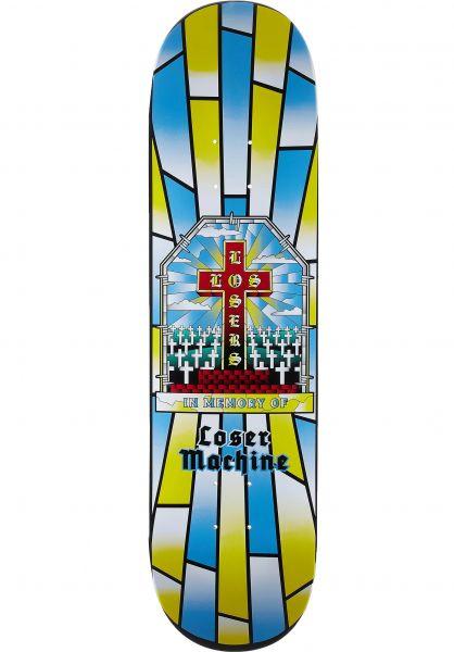 Loser-Machine Skateboard Decks Fallen multicolor vorderansicht 0264258