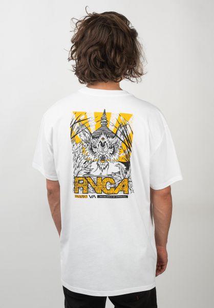 RVCA T-Shirts Vampire Bat white vorderansicht 0320551