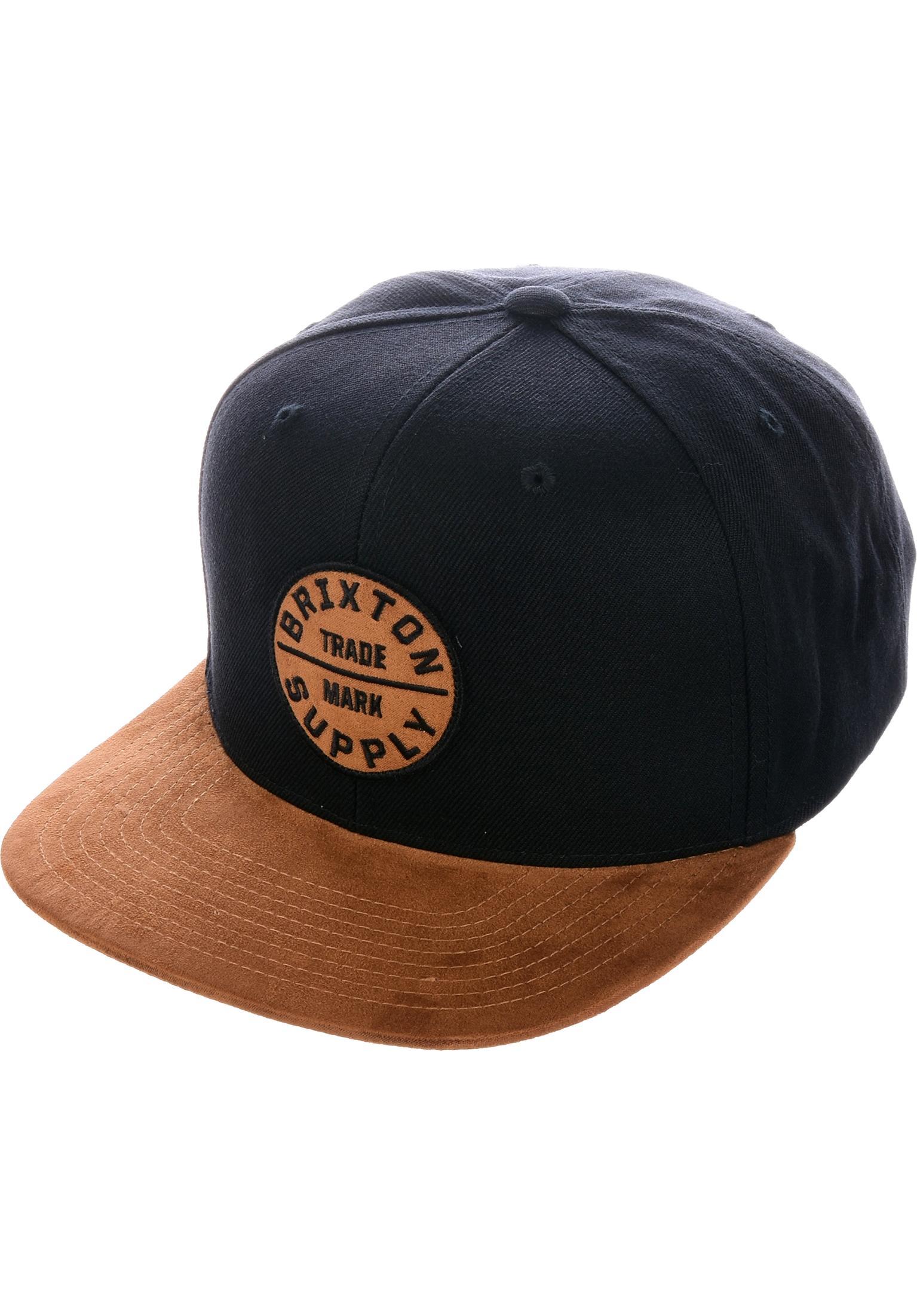 7c433337b73 Oath III Brixton Caps in copper-black for Men