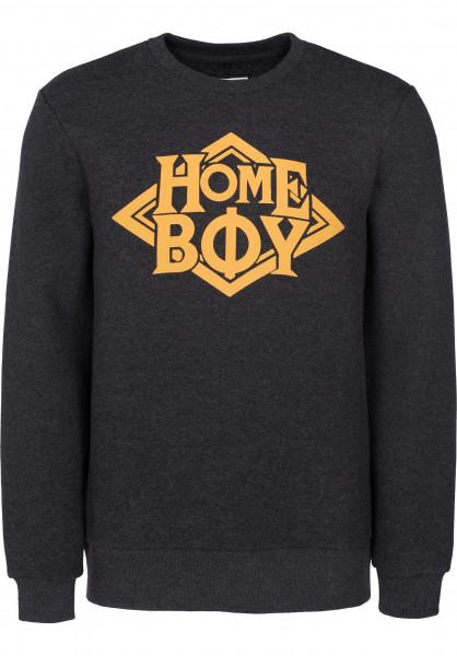 Homeboy Sweatshirts und Pullover Nappo titanheather Vorderansicht