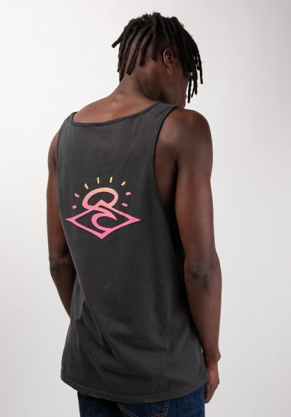 Rip Curl Tank-Tops So Authentic anthracite vorderansicht 0137899