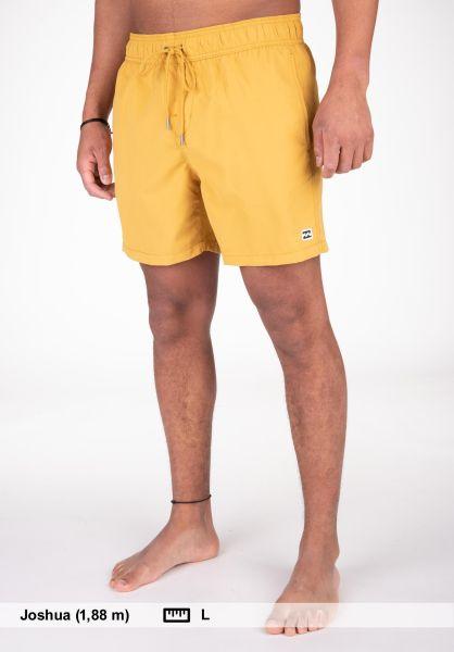 Billabong Beachwear All Day Layback 16 gold vorderansicht 0205235