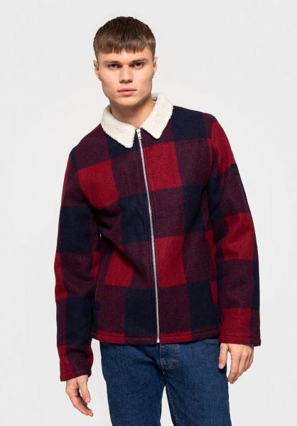 RVLT Winterjacken 7657 Shirt Jacket red vorderansicht 0250182