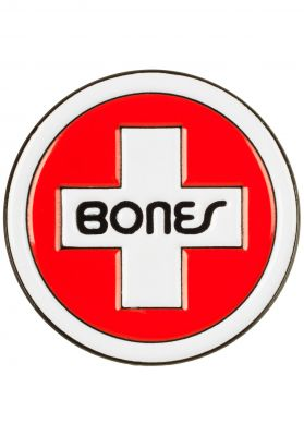 Bones Bearings Swiss Circle Lapel Pin