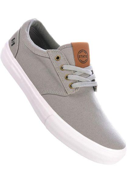 State Alle Schuhe Elgin Canvas midgrey-white vorderansicht 0604870