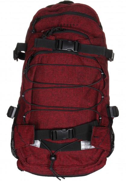 Forvert Rucksäcke New Louis flannel-red Vorderansicht