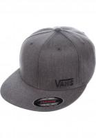 Vans-Caps-Splitz-heathercharcoal-Vorderansicht