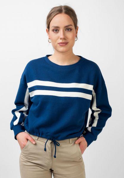 RVCA Sweatshirts und Pullover Aced federalblue vorderansicht 0422858