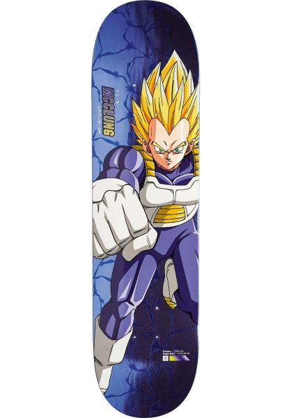 Primitive Skateboards Mcclung Dbz Super Saiyan Vegeta