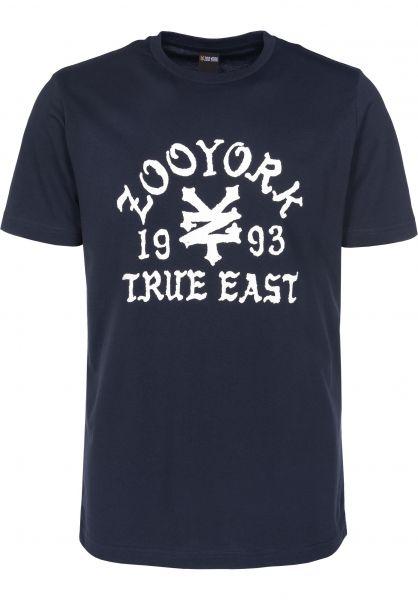 Zoo York T-Shirts Napkins navy Vorderansicht
