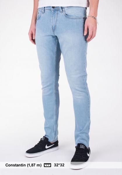 Reell Jeans Spider lightblue-greywash Vorderansicht
