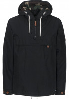 Dickies-Windbreaker-Milford-black-Vorderansicht