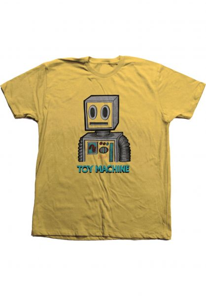 Toy-Machine T-Shirts Pen And Ink Robot ginger vorderansicht 0323274