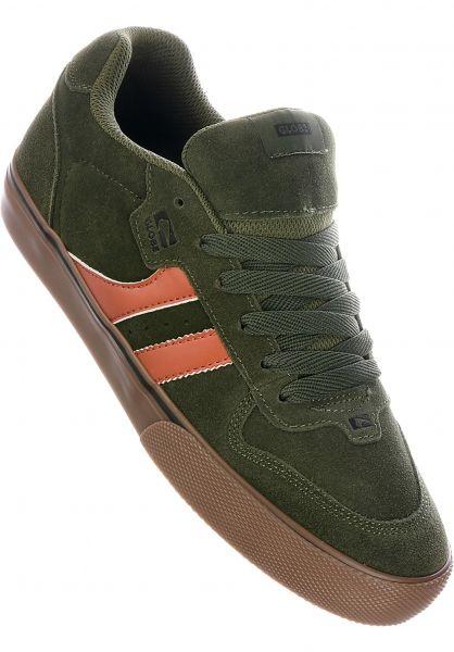 Globe Alle Schuhe Encore 2 forrestgreen-gum vorderansicht 0601275