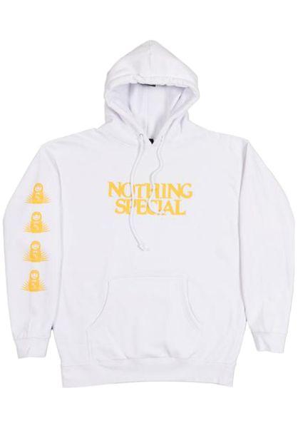 Nothing Special Hoodies Foundation white vorderansicht 0445205