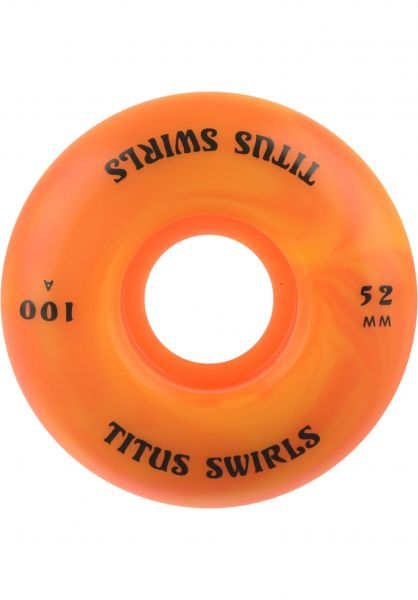 TITUS Swirls Regular 100A yellow-orange Vorderansicht