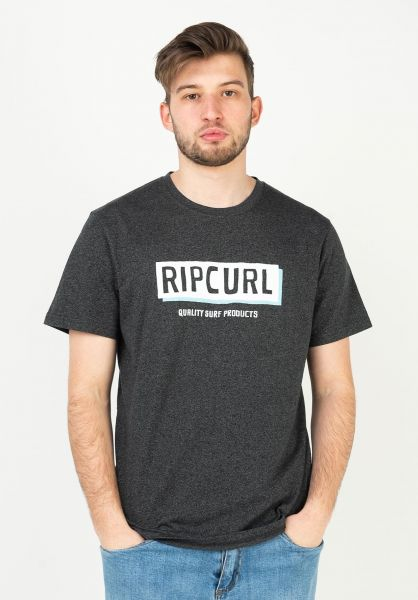 Rip Curl T-Shirts Boxed blackmarle vorderansicht 0323557