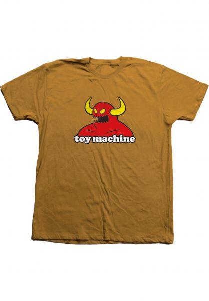 Toy-Machine T-Shirts Monster ginger vorderansicht 0360310