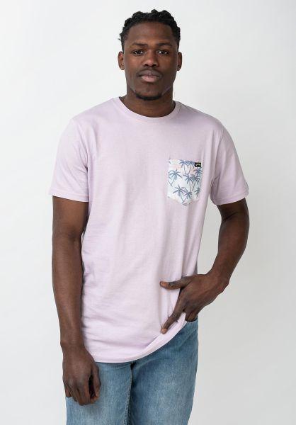 Billabong T-Shirts All Day Printed lavender vorderansicht 0321576
