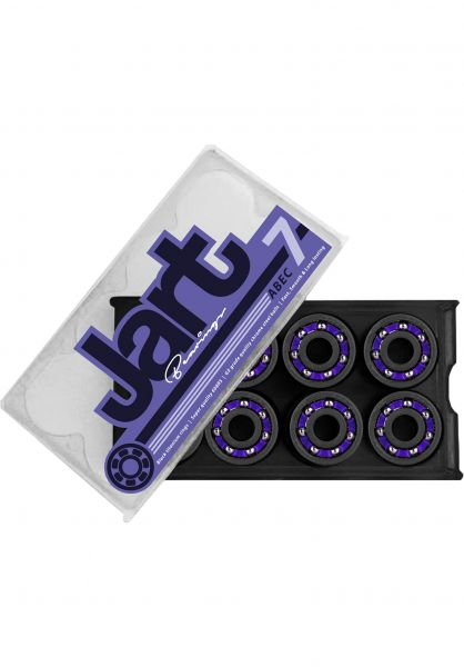 JART Kugellager Abec 7 black-purple vorderansicht 0180316