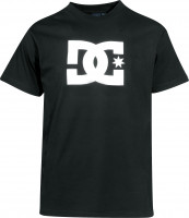 DC Shoes T-Shirts Star black Vorderansicht
