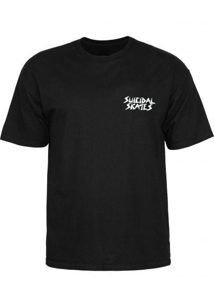 Dogtown T-Shirts Possessed To Skate black Vorderansicht