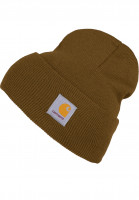 Carhartt-WIP-Muetzen-Acrylic-Watch-Hat-hamiltonbrown-Vorderansicht