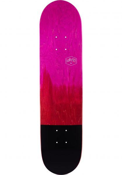 TITUS Skateboard Decks Dip Color-Fade pink-red vorderansicht 0260585