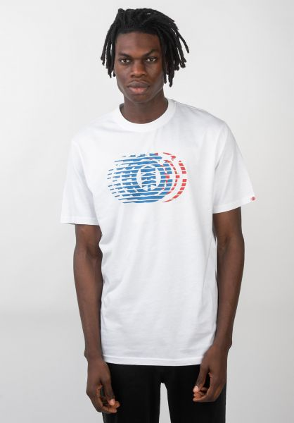 Element T-Shirts Victory opticwhite vorderansicht 0320485
