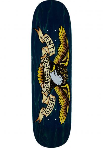 Anti Hero Skateboard Decks Shaped Eagle Meanie blue vorderansicht 0262698