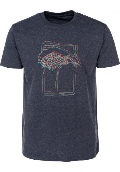 Mahagony T-Shirts 3D navy vorderansicht 0399466