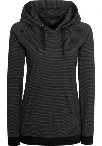 Forvert Hoodies Hilgi Girls black-grey Vorderansicht