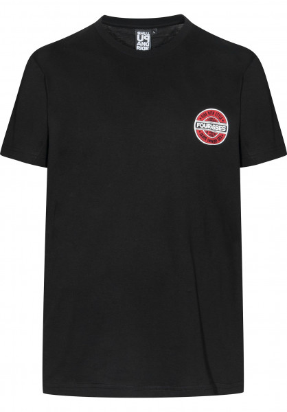 Fourasses T-Shirts Swax black Vorderansicht