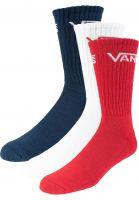 vans-socken-classic-crew-3-pack-dressblues-chilipepper-white-vorderansicht-0631004