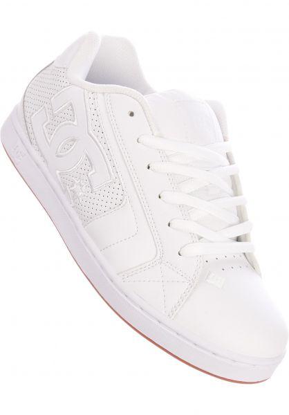 DC Shoes Alle Schuhe Net white-white-gum vorderansicht 0601675