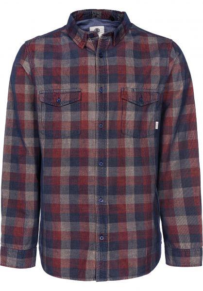 Element Hemden langarm Tacoma Cord picante vorderansicht 0411833
