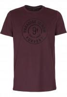 Forvert-T-Shirts-Philipp-darkredheather-Vorderansicht