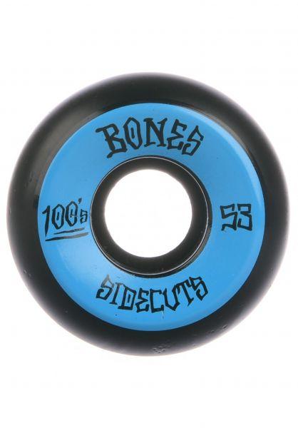 Bones Wheels Rollen 100´s OG #2 V5 100A black black-blue vorderansicht 0134680