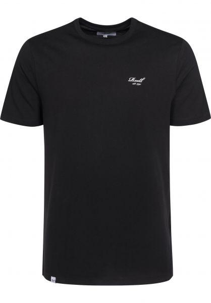 Reell T-Shirts Small Script black Vorderansicht