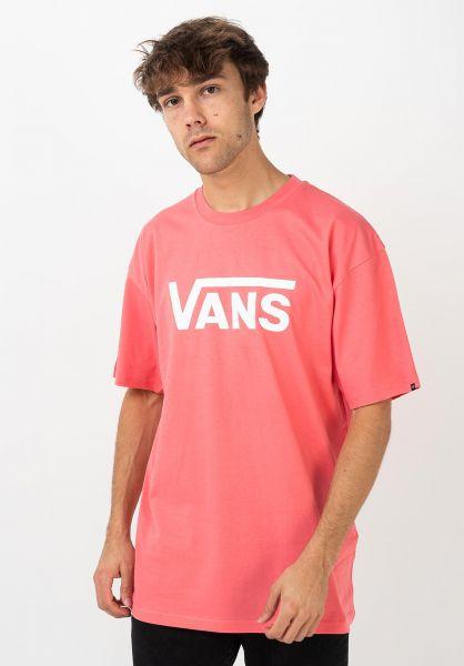 Vans T-Shirts Classic calypso-coral vorderansicht 0361788