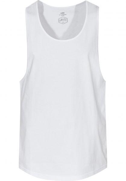 TITUS Tank-Tops Essential Tank white vorderansicht 0137867
