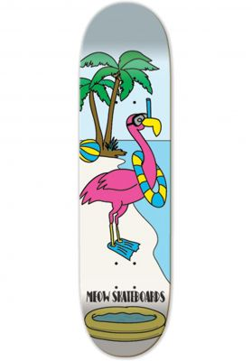 Meow Skateboards Flamingo